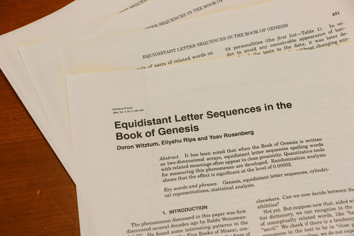 Equidistant-Letter-Sequences-in-the-Book-of-Genesis-Article-Statistical-Science